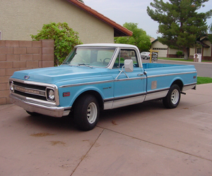 1969, babyblue, and chevy image