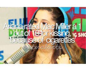 facts, ariana grande, and mac miller image