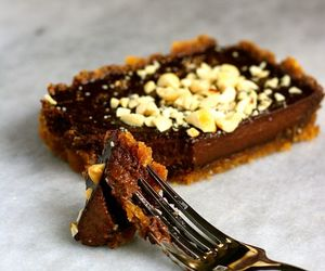chocolate, tart, and peanut butter image