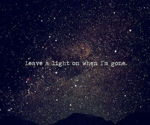 light, stars, and quote image