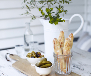 olive and bread image