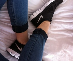 classy, legs, and nike image