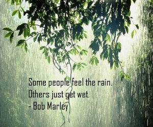 rain, quotes, and bob marley image