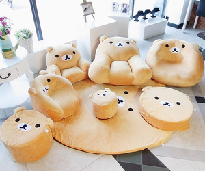 couch and rilakkuma image