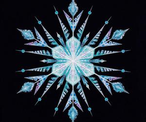 frozen, disney, and snowflake image