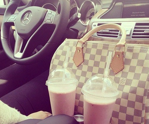 car, Louis Vuitton, and bag image