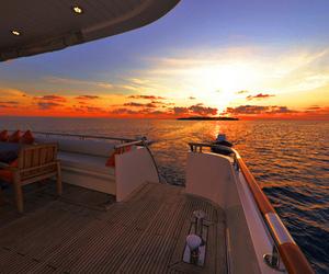 beautiful, luxury, and sunset image