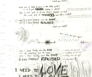 muse, Lyrics, and madness image