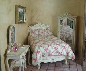 bedroom, diy, and dollhouse image