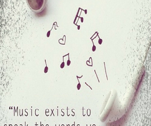 earphones, expressive, and quotes image