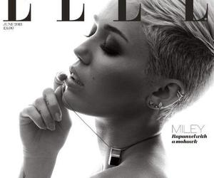 cover, miley cyrus, and Elle image