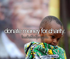 help, donate, and charity image