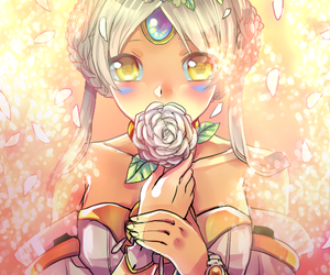 eve, rose, and elsword image