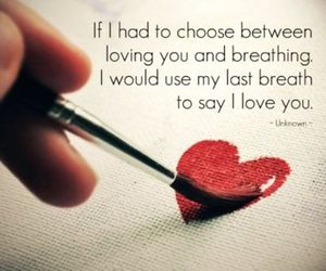 breathing, choose, and quote image