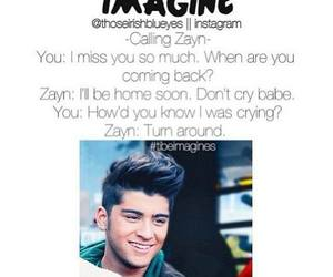 one direction, zayn malik, and imagine image