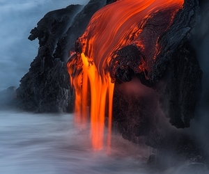 lava, nature, and scenery image