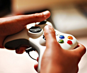 game, xbox, and controller image