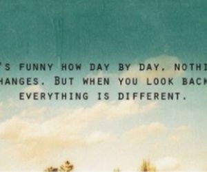 quote, change, and different image