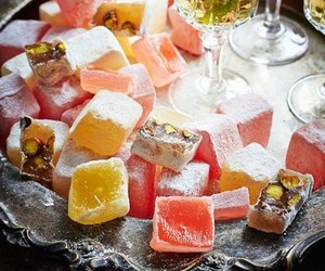 colors, turkish delight, and desert image