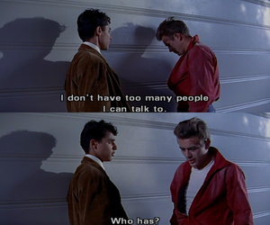 james dean, quote, and sad image