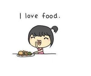 food, yummy, and girl image