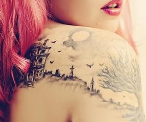 beauty, shoulder, and dead image