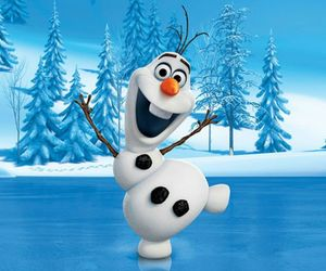 olaf, adorable, and frozen image