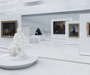 art, museum, and white image