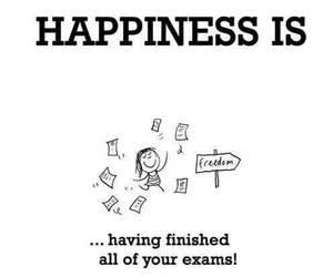 exam, happiness, and school image