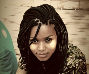 African, braids, and hair image