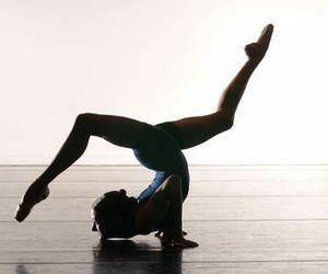 dance, ballet, and yoga image