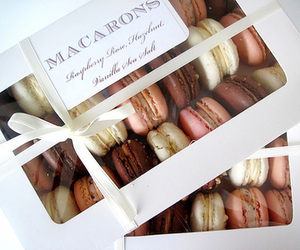 macarons, food, and delicious image