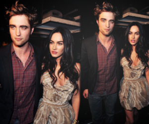 megan fox and robert pattinson image