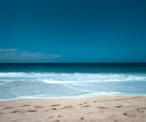 blue and ocean image