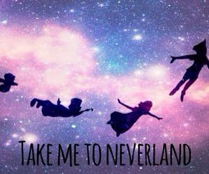 neverland and quote image
