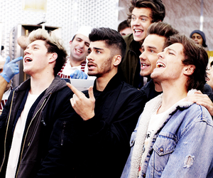 dimples, smile, and one direction image
