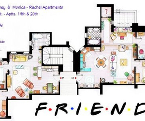 apartment, chandler bing, and Courteney Cox image