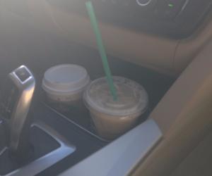 caramel macchiato, coffee, and iced tea image