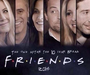 friends, reunion, and 2014 image