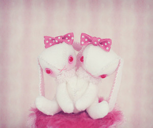 pink, red, and cute image