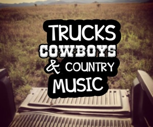 cowboy and truck image