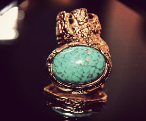 fashion, ring, and YSL image