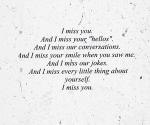 her, i miss you, and quote image