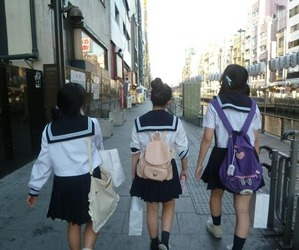 tokyo, uniform, and japan image