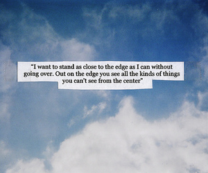 quote, sky, and edge image