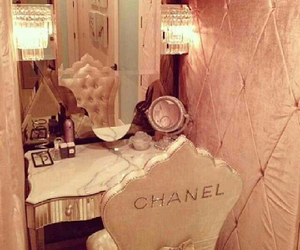 chanel, interior, and mirror image