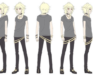 vocaloid, anime boy, and singger image