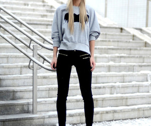 casual, fashion, and street style image