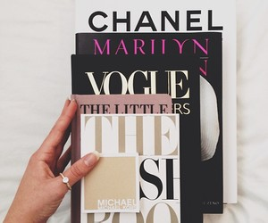 chanel, fashion, and vogue image