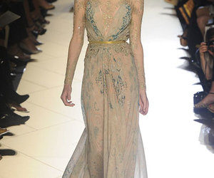fashion week, blue, and elie saab image